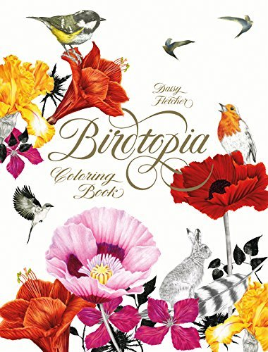 Daisy Fletcher Birdtopia Coloring Book