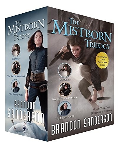 Brandon Sanderson Mistborn Trilogy Set Mistborn The Hero Of Ages And The Well Of Ascen