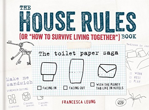 "Francesca Leung The House Rules Book Or ""how To Survive Living Together"" Book"