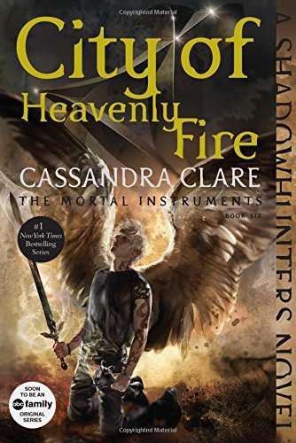 Cassandra Clare City Of Heavenly Fire Reissue