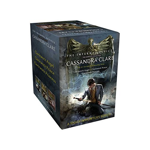 Cassandra Clare The Infernal Devices The Complete Collection Clockwork Angel; Clockwork Prince; Clockwork Prin Boxed Set