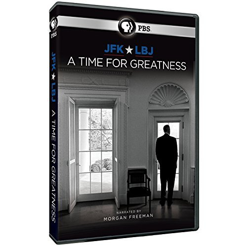 Jfk & Lbj A Time For Greatness Pbs DVD Nr