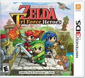 Nintendo 3ds Legend Of Zelda Triforce Heroes