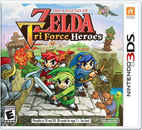 Nintendo 3ds Legend Of Zelda Triforce Heroes Legend Of Zelda Triforce Heroes