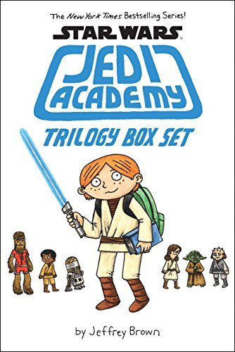 Jeffrey Brown Trilogy Box Set (star Wars Jedi Academy)