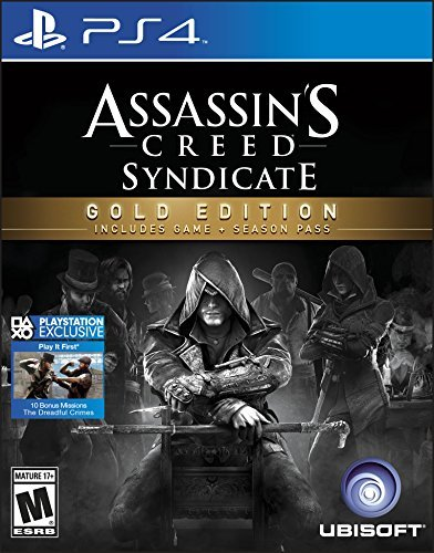 Ps4 Assassin's Creed Syndicate Gold Edition Assassin's Creed Syndicate Gold Edition