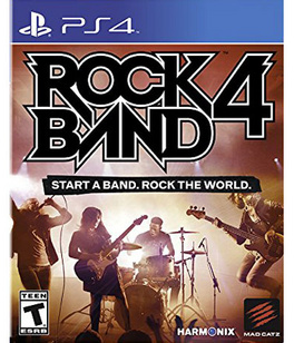 Ps4 Rock Band 4 (software Only) Rock Band 4 (software Only)