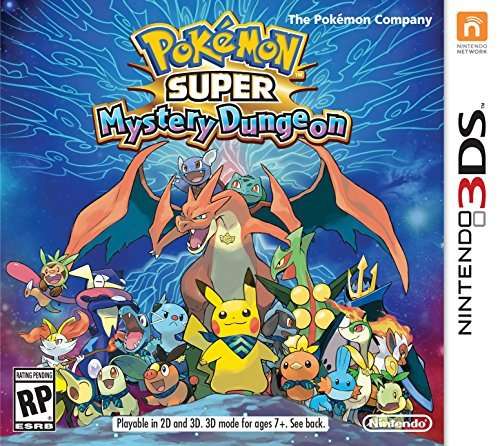 Nintendo 3ds Pokemon Super Mystery Dungeon