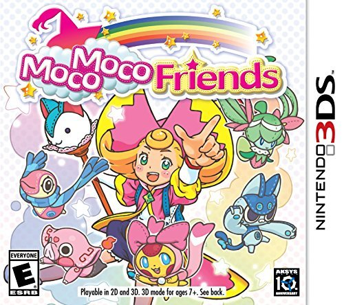Nintendo 3ds Moco Moco Friends Moco Moco Friends