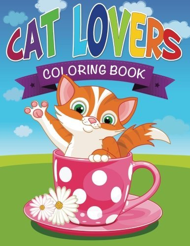 Speedy Publishing Llc Cat Lovers Coloring Book