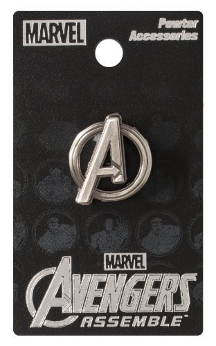 Pin Avengers Logo Pewter Lapel Pin