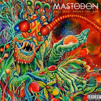 Mastodon Once More Round The Sun Explicit Transparent Green Solid White Colored Vinyl