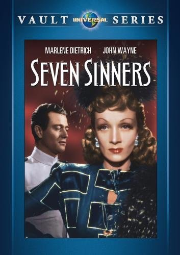 Seven Sinners Seven Sinners DVD Mod This Item Is Made On Demand Could Take 2 3 Weeks For Delivery