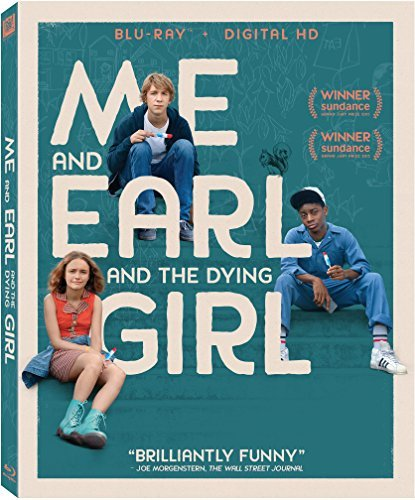 Me & Earl & The Dying Girl Mann Cycler Cooke Blu Ray Pg13