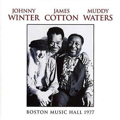 Johnny Winter James Cotton Muddy Waters Boston Music Hall 1977 2lp