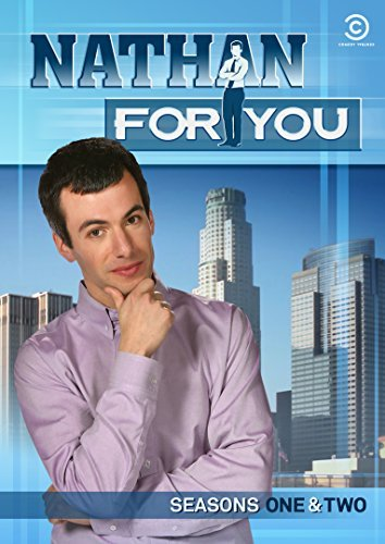 Nathan For You Seasons 1 2 DVD