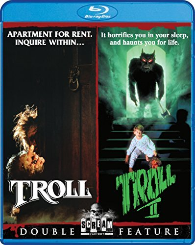 Troll & Troll 2 Double Feature Blu Ray Pg13