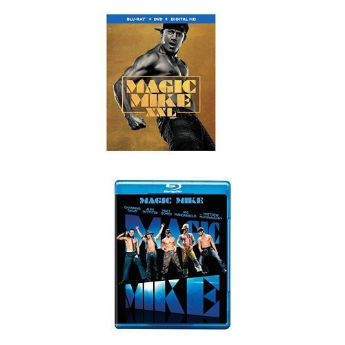 Magic Mike Xxl Tatum Manganiello Bomer Nash Blu Ray DVD Dc R