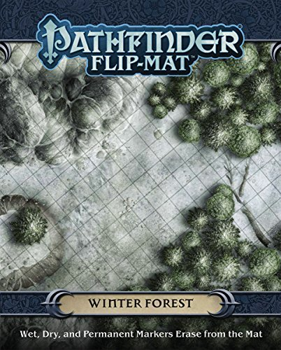 Jason A. Engle Pathfinder Flip Mat Winter Forest