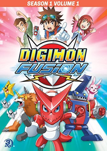 Digimon Fusion Season 1 Volume 1 DVD