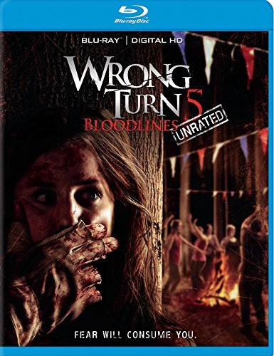 Wrong Turn 5 Bloodlines Wrong Turn 5 Bloodlines Blu Ray R