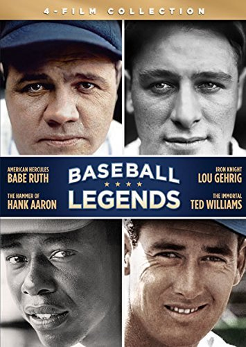 Baseball Legends Ruth Aaron Gehrig Williams DVD Nr