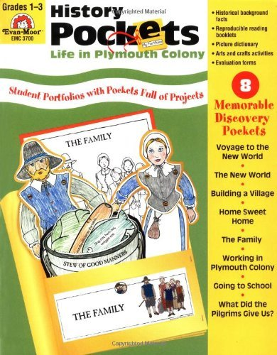 Evan Moor Educational Publishers Life Plymouth Colony Grade 1 3 Teacher