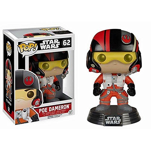 Pop Vinyl Figure Star Wars Episode Vii The Force Awakens Poe Star Wars Episode Vii The Force Awakens Poe