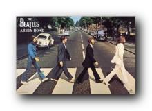 Poster The Beatles Poster Abbey Road 24x36 Mint 4547