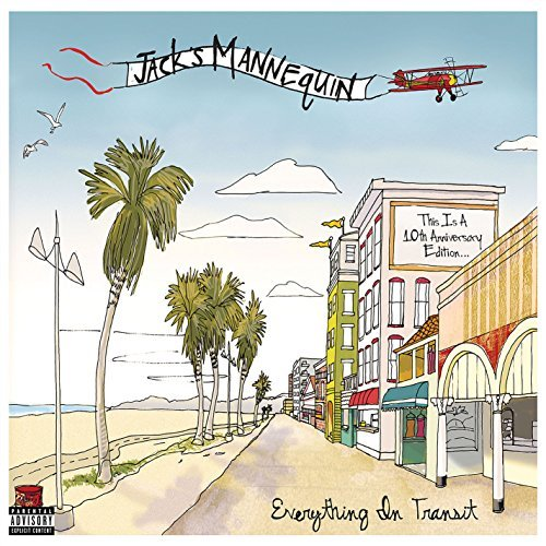 Jack's Mannequin Everything In Transit (10th Anniversary Edition) Explicit 2cd