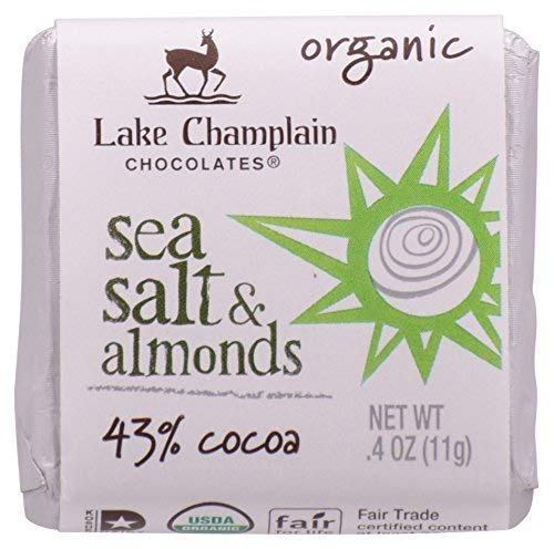 Candy Organic Squares Dispenser Sea Salt & Almonds