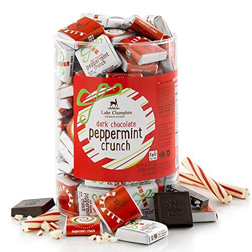 Candy Holiday Squares Dispenser Peppermint Crunch