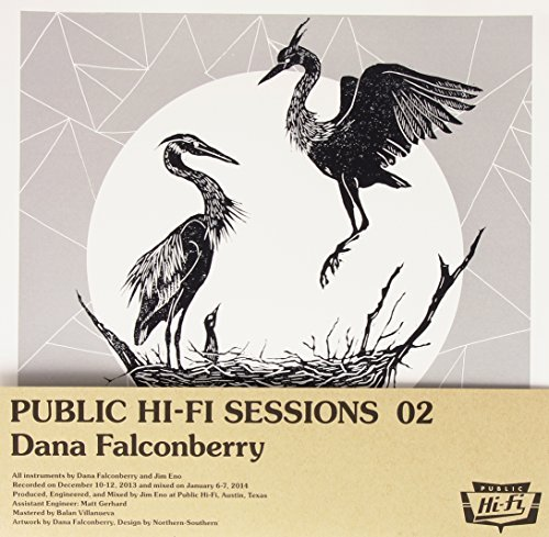 Falconberry Dana Public Hi Fi Sessions 02 Silk Screened Insert + Fold Over