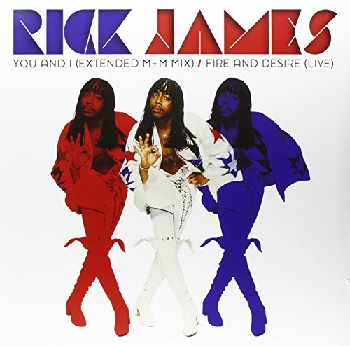 Rick James You & I Fire & Desire Single