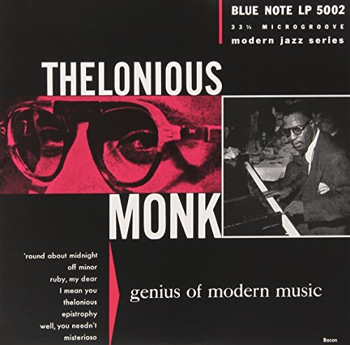 Thelonious Monk Genius Of Modern Music Volume 1 10""