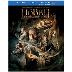 Hobbit Desolation Of Smaug Mckellen Freeman Armitage Blu Ray DVD Uv