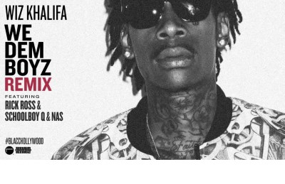 Khalifa Wiz We Dem Boyz CD Single W $2 Off Coupon