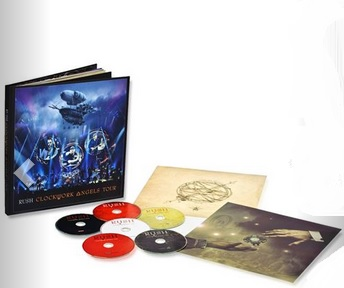 Rush Clockwork Angels Tour Deluxe Edition Individually Numbered