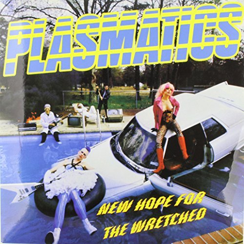 Plasmatics New Hope For The Wretched Limited Edition Yellow Vinyl Lp