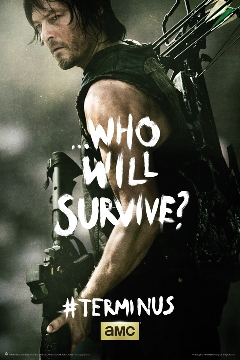 Poster Walking Dead Who Will Survive