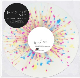 Wild Cub Colour Crystal Clear Vinyl With 3 Color Splatter (pink Cyan And Yellow)