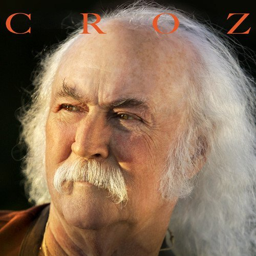 David Crosby Croz (10in Single Red Colored