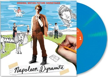 Napoleon Dynamite Soundtrack (blue Vinyl) Limited To 500 Soundtrack