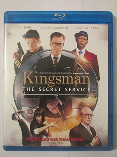 Samuel L Jackson Michael Caine Colin Firth Matthew Firth Jackson Caine Kingsman The Secret Service Exclusive Edition (bl