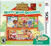 Nintendo 3ds Animal Crossing Happy Home Designer & Amiibo Card