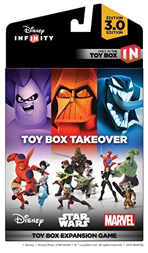 Disney Infinity 3.0 Toy Box Takeover (toy Box Expansion Game) Disney Infinity 3.0 Toy Box Takeover (toy Box Expansion Game)