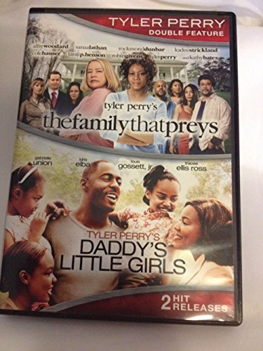 Family That Preys Daddy's Girls Tyler Perry Double Feature DVD