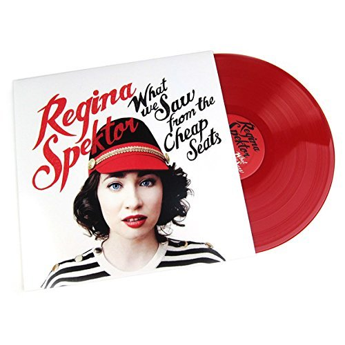 Regina Spektor What We Saw From The Cheap Seats (red Vinyl) Indie Exclusive. Limited To 850 Pieces.