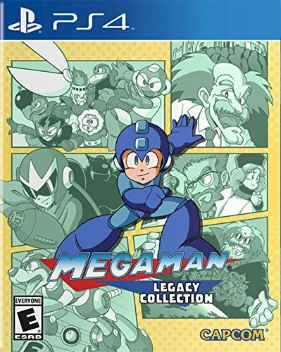 Ps4 Mega Man Legacy Collection