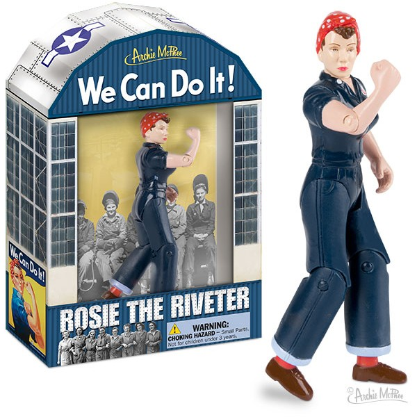 Action Figure Rosie The Riveter 6 Case